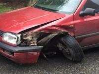 В Запорожье столкнулись сразу 4 авто – движение перекрыто