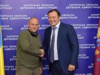 Ярош встретился в Запорожье с губернатором