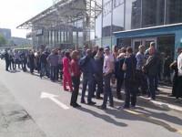 Запорожцы жалуются на гигантские очереди в сервисный центр МВД