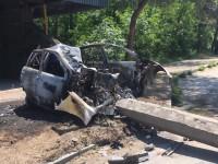 Очевидцы опубликовали видео аварии, в которой заживо сгорел водитель