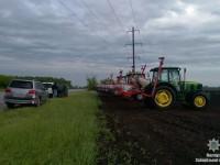 Запорожский фермер захватил возле трассы более 80 гектаров земли