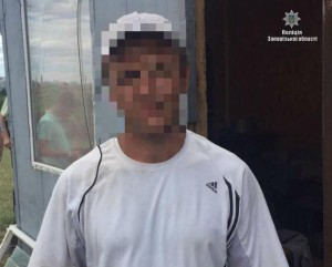 Запорожская полиция поймала преступника, который напал на 13-летнюю девочку