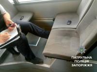 В центре Запорожья грабители пытались скрыться на троллейбусе
