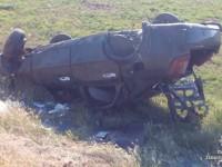 В ДТП с перевернувшейся машиной пострадала беременная девушка на позднем сроке
