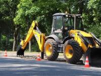 В Запорожье ремонтируют дорогу до аэропорта