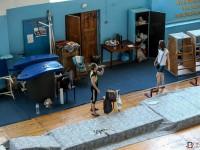 Запорожская тренер заявила о пропаже инвентаря из проданного манежа