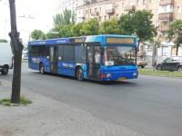 До одного из спальных районов Запорожья запустили большой автобус