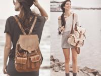 Женский рюкзак – стильный аксессуар