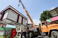 В Запорожье временно запретили установку МАФов