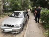 Председателю суда разбили служебное авто (фото)