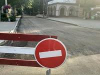 В центре Запорожья до конца июля перекрыли дорогу