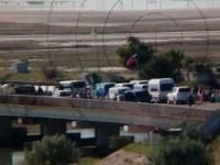 Запорожцев предупреждают об искусственных очередях на границе с Крымом