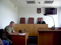 В Запорожской области военного судят за снос палатки «Оппоблока»