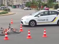 На песках женщин на «Шевроле» сбила велосипедиста (Видео)
