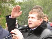 Поселковый голова, открывавший памятник Ленину, выступил спонсором строительства храма
