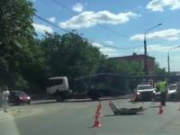 В Запорожье патрульные во второй раз за неделю попали в ДТП