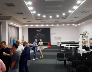 В Запорожье политсила открыла бесплатный центр для пресс-конференций за деньги налогоплательщиков