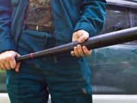 В Запорожье водитель напала на пешехода с битой