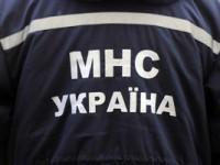 В Запорожской области машина врезалась в дерево и загорелась