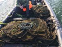 В ходе рейда «рыбокопы» изъяли более полутысячи раколовок