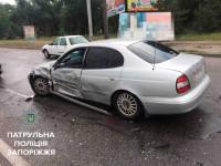 На ДнепроГЭСе из-за двух аварий образовалась длинная пробка (Фото)