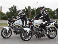 В Запорожье охранять порядок будут полицейские на мотоциклах (Фото)