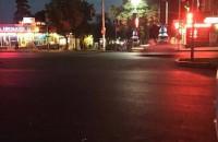 Отремонтированная дорога в центре Запорожья пошла волнами