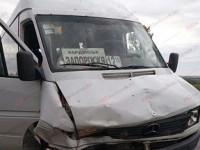 На запорожской трассе рейсовый автобус с пассажирами попал в аварию