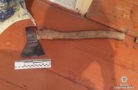 Житель Запорожской области зарубил отца топором