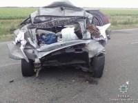 В жутком ДТП на запорожской трассе погиб водитель (Фото)