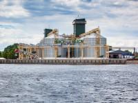Открытый Гройсманом  терминал под Запорожьем принял более 3000 тонн урожая