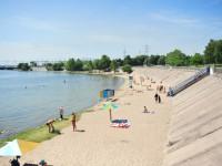 Минздрав не рекомендует купаться на запорожском пляже