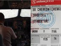 Самолет с запорожским депутатом попал в бурю в Стамбуле