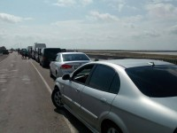 Бердянские пограничники предупреждают об искусственных очередях в Крым