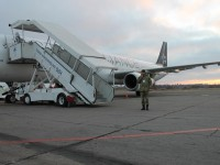 В запорожском аэропорту задержали иностранца, разыскиваемого интерполом