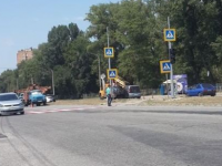 На запорожской Набережной, где чаще всего сбивают пешеходов, установили светофор