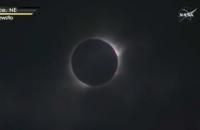 Уроженец Запорожской области снял уникальное солнечное затмение в США (Видео)