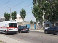 Машина «скорой» с ребенком попала в ДТП