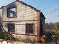 В Запорожской области огонь уничтожил дачный кооператив вместе с автомобилем (Фото)