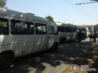 Масштабная авария в центре Запорожья: дорогу не поделили 3 маршрутки и 2 авто