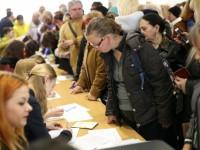 П'ятого квітня в Українському домі відбулися збори виборців за відкликання київського міського голови Віталія Кличка
