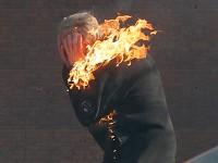 Запорожанка заживо сгорела, упав в костер