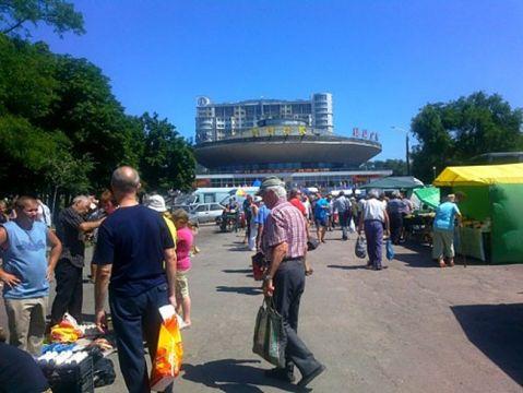 На совещании исполкома Запорожского горсовета рассматривали вопросы борьбы состихийными рынками