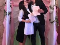 Запорожский комик сделал предложение возлюбленной в прямом эфире – подробности