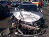 На плотине ДнепроГЭС столкнулись сразу 4 авто – пострадал ребенок