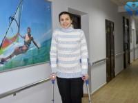 Специалисты клиники ортопедии и спортивной травмы областной больницы спасли от инвалидности 30-летнюю девушку из Токмака