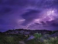 Фото молнии над Запорожской областью победило в конкурсе от «Википедии»