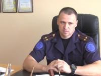 Спасатель из Запорожской области получил звание подполковника за спасение пьяного пляжника