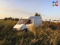 На запорожской трассе таксист заглох и спровоцировал тройную аварию