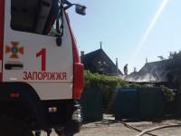 В одном из районов Запорожья чуть не произошел взрыв (Фото)